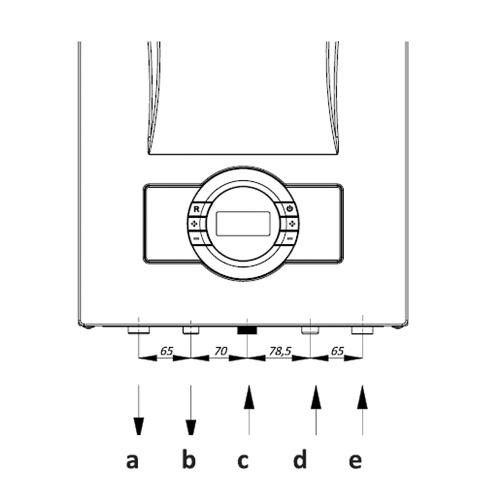 схема подключения конденсационного газового котла Proteus Premix